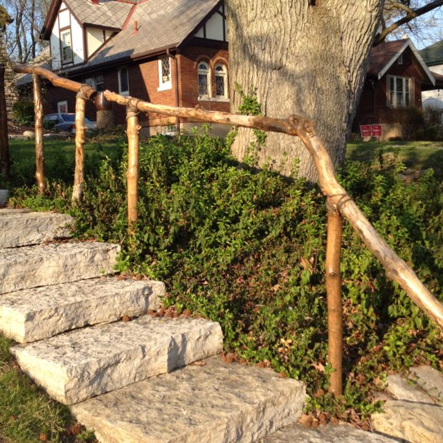 Best Natural Handrail In 2019 Outdoor Handrail Garden 640 x 480