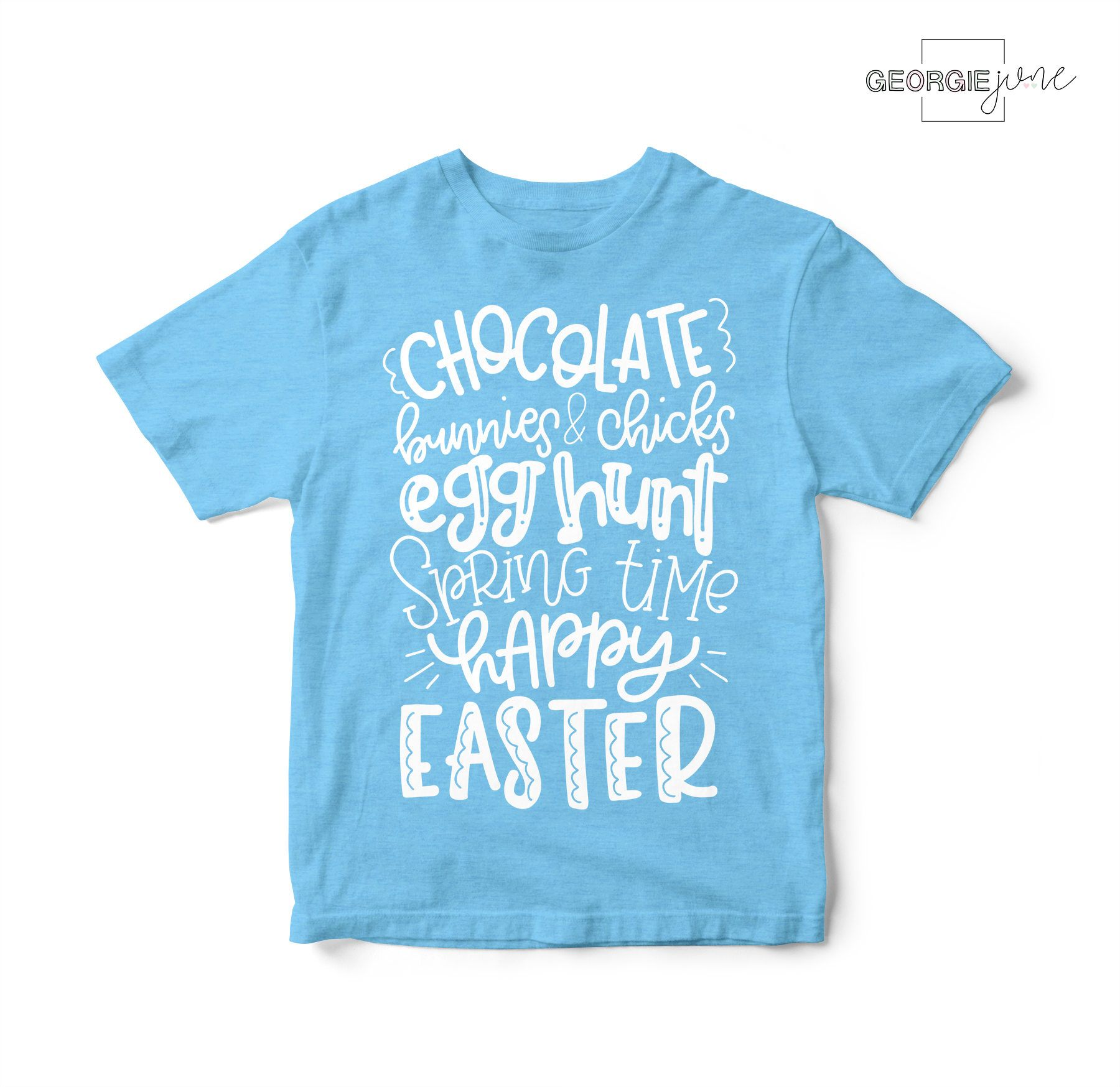 166d812a9 Happy Easter Kids T-Shirt   Cute Easter Tee For Kids   Toddler Easter Shirt