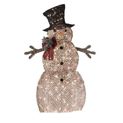 Holiday living 48 in lighted vine snowman outdoor christmas holiday living 48 in lighted vine snowman outdoor christmas decoration workwithnaturefo
