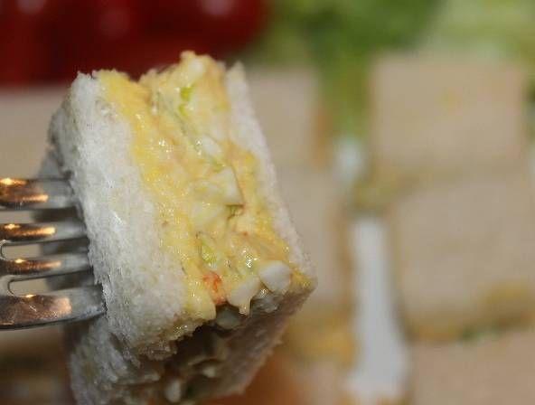 에그와 게맛살의 영양 샌드위치