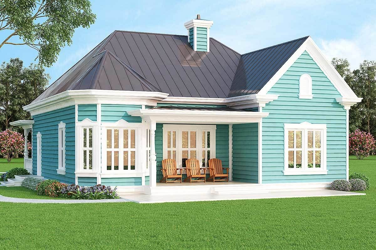 Plan 31088d Vacation Or City Home Cottage Plan House Plans House Floor Plans