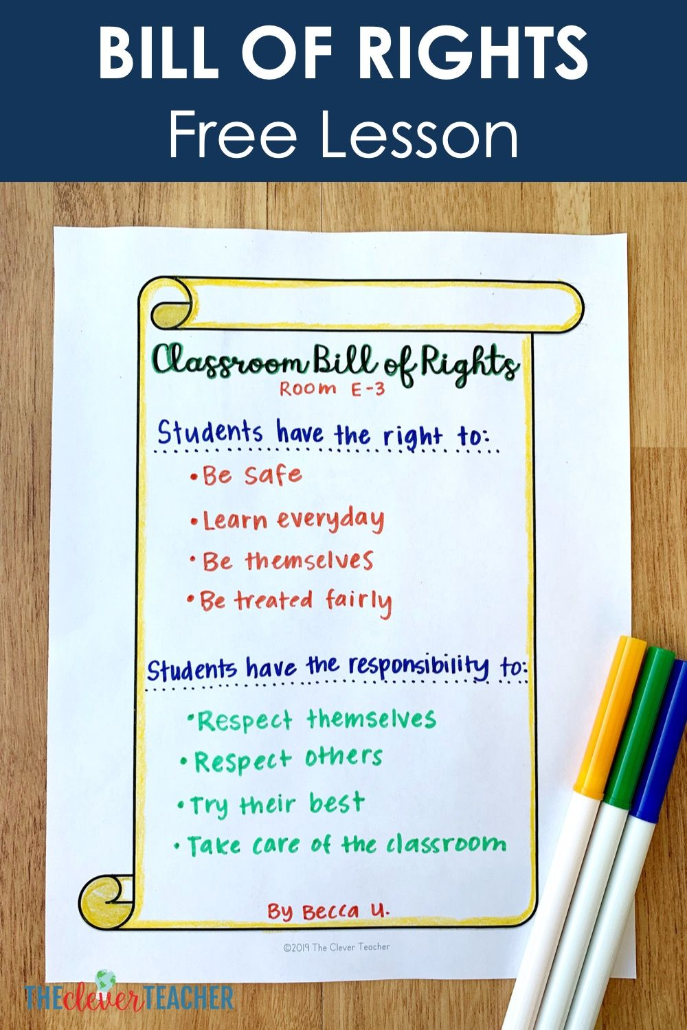 small resolution of Free Bill of Rights Lesson   Social studies elementary