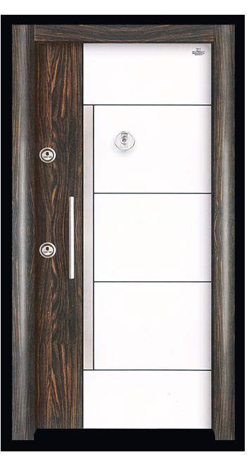 Steel Door Kehribar Er-663