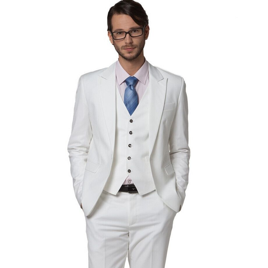 White Waistcoat Peak | Suits | Pinterest