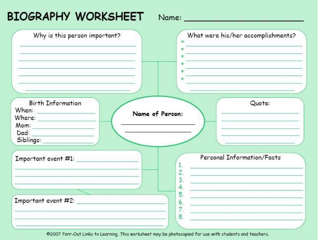 Pin by Sara Coyne on School Pinterest School, Social studies and - autobiography template