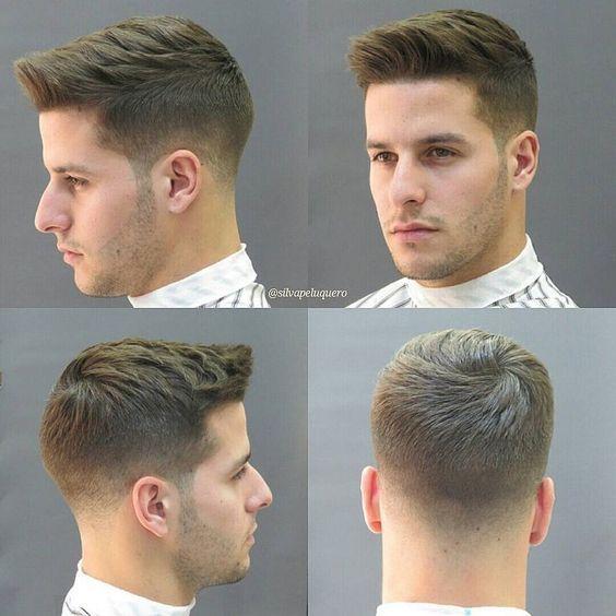 Quiff Frisuren Einfache Frisuren Boy Hairstyles Gents Hair Style Short Hair Styles