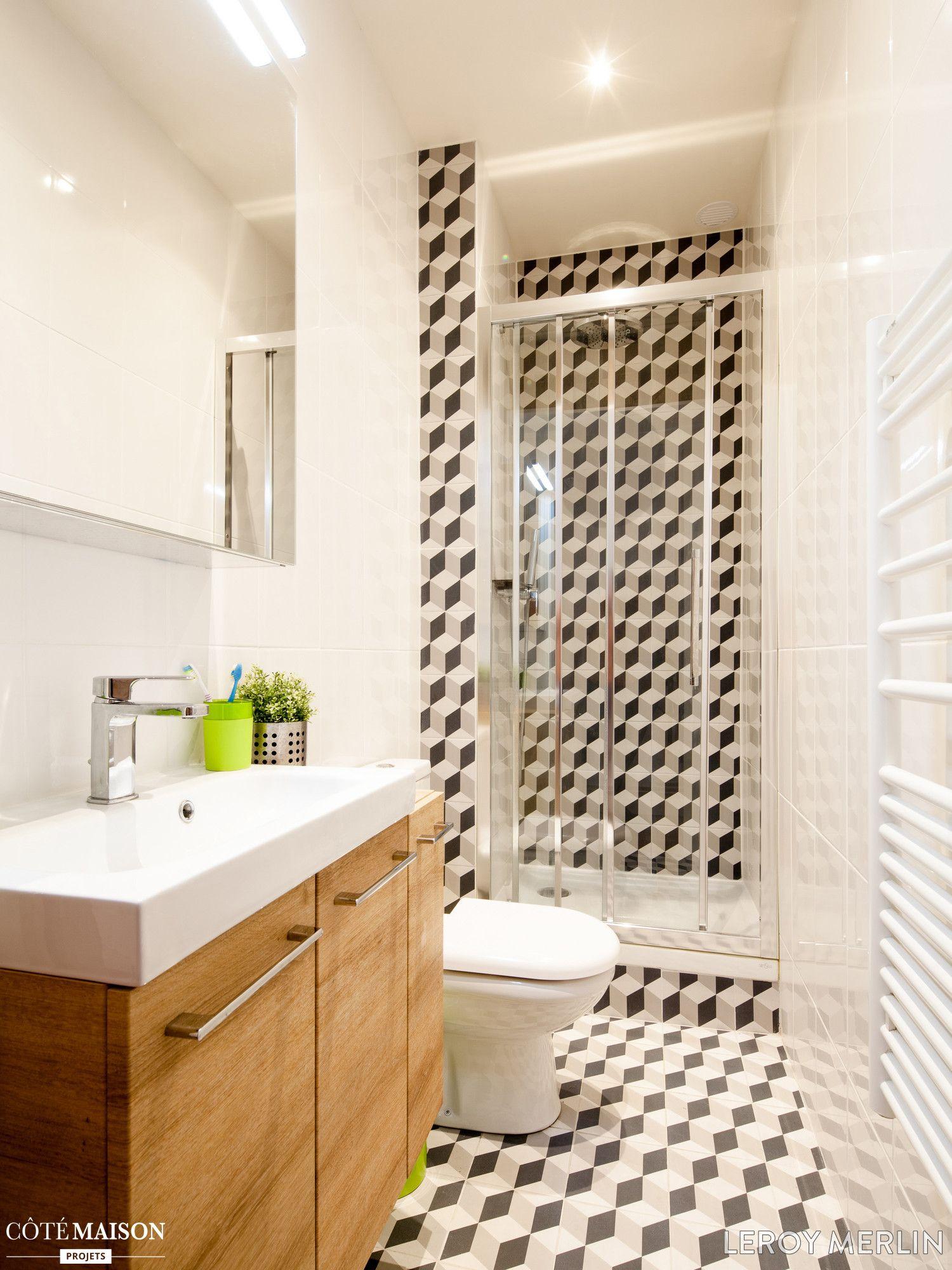 Petites Salles De Bains Leroy Merlin Côté Maison Salle De - Cote maison salle de bain