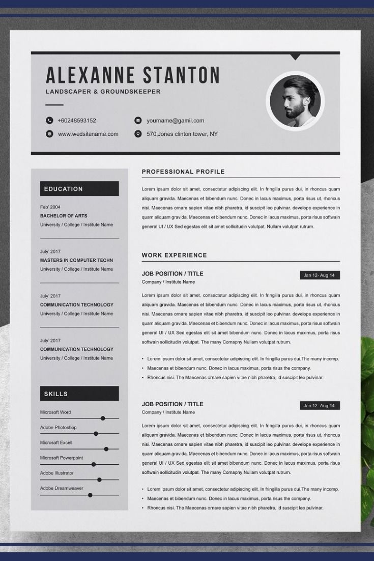 2 page resume templates if you need more pages just email