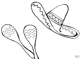 Image Result For Sombrero Template Cinco De Mayo Coloring Pages For Kids Coloring Pages