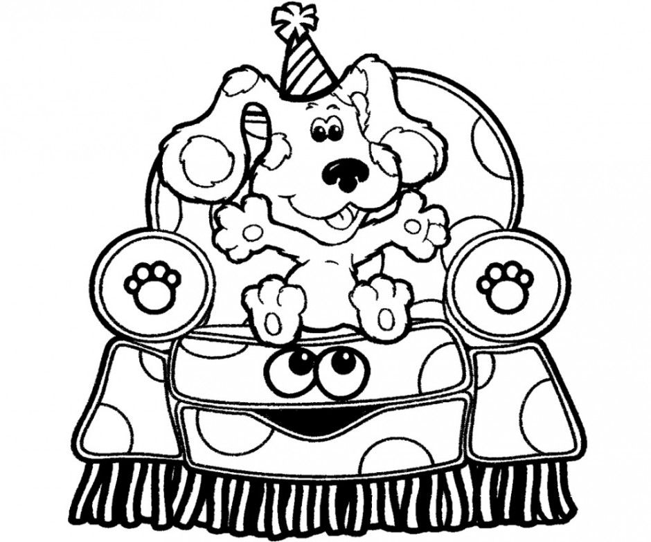 Image result for coloring pages for kids blues clues   Blog   Pinterest