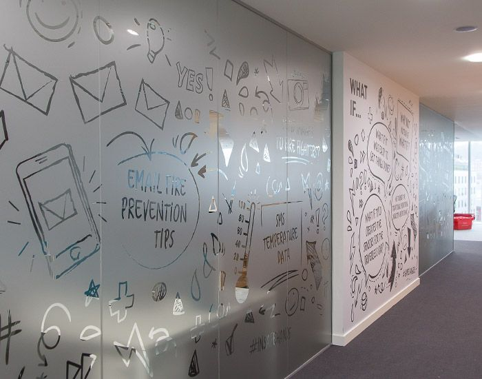 Crs Office Branding Tyco Glazing And Wall Manifestations