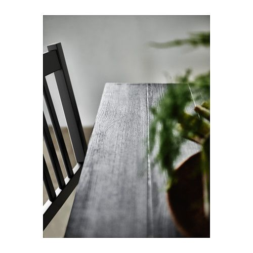 RYGGESTAD Pöytä - Grebbestad musta - IKEA