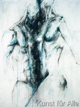 klassischer Kunstdruck Balance-Akt von Katja Spilker ...