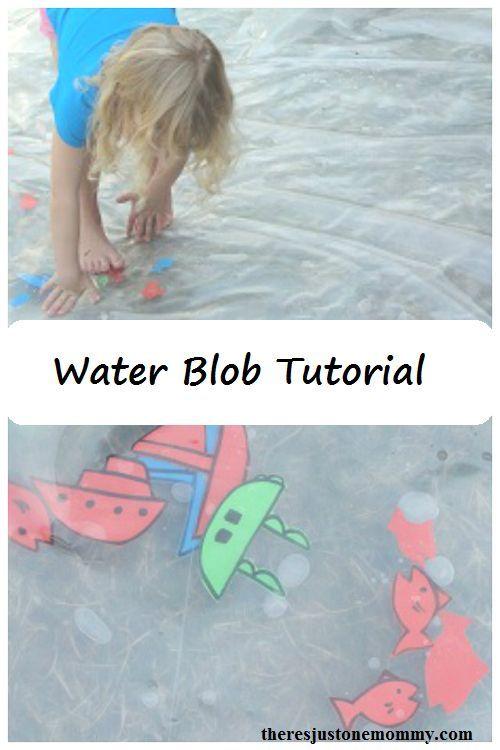 Diy water blob: tutorial clumsy crafter.