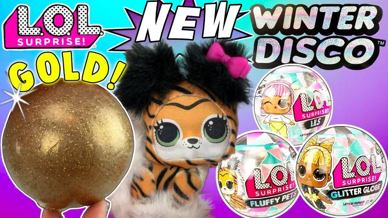 LOL SURPRISE DOLLS WINTER DISCO SERIES Glitter Globe LOL