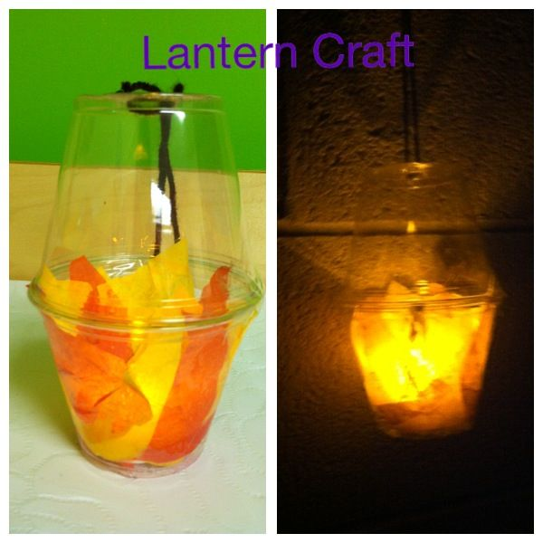 Lantern Craft For Gideons Battleclear Solo Cups Tissue Paper