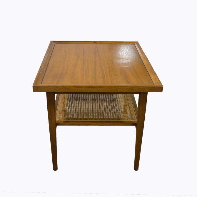 Walnut Side Table Drexel Declaration Mid Century Modern 1950 By Hearthsidehome Table Midcentury Modern Mid Century