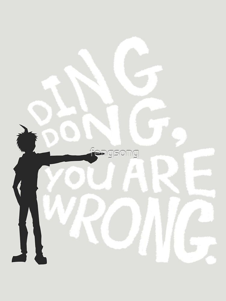 Ding Dong You Are Wrong Essential T Shirt By Fengsong T Shirt Vintage Style Outfits Ding Dong