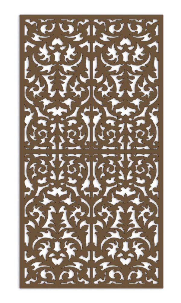 fretwork panels | Moroccan Fretwork Mdf Screen Select Size ...