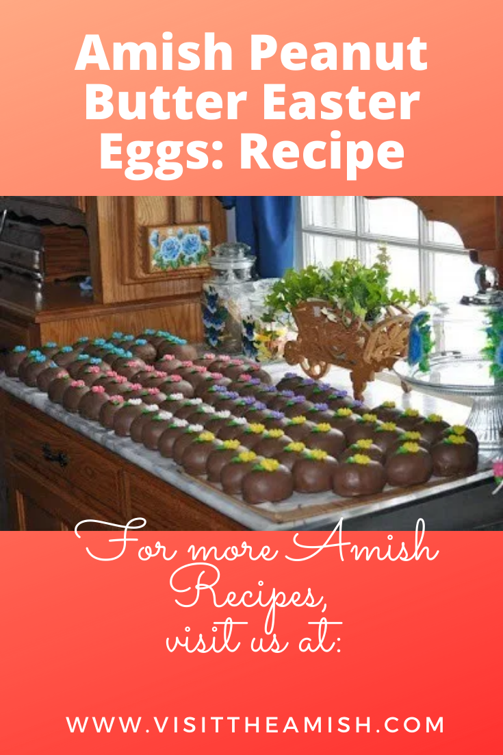 Photo of Amish Peanut Butter Easter Eggs: Recipe