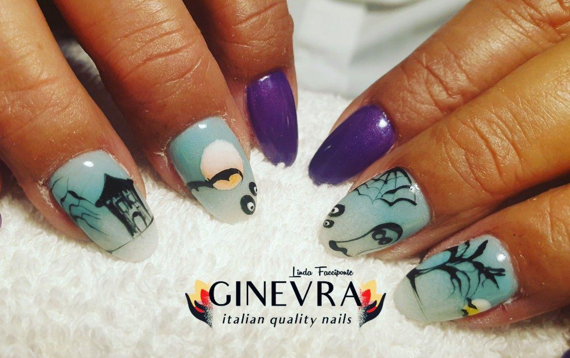#refillgel #gelnails #nailaddict #onicotecnica #nailartist #ginevranails #ginevrastyle #halloween2019