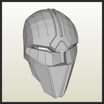 Star Wars Sith Acolyte Mask Free Papercraft Download Star Wars