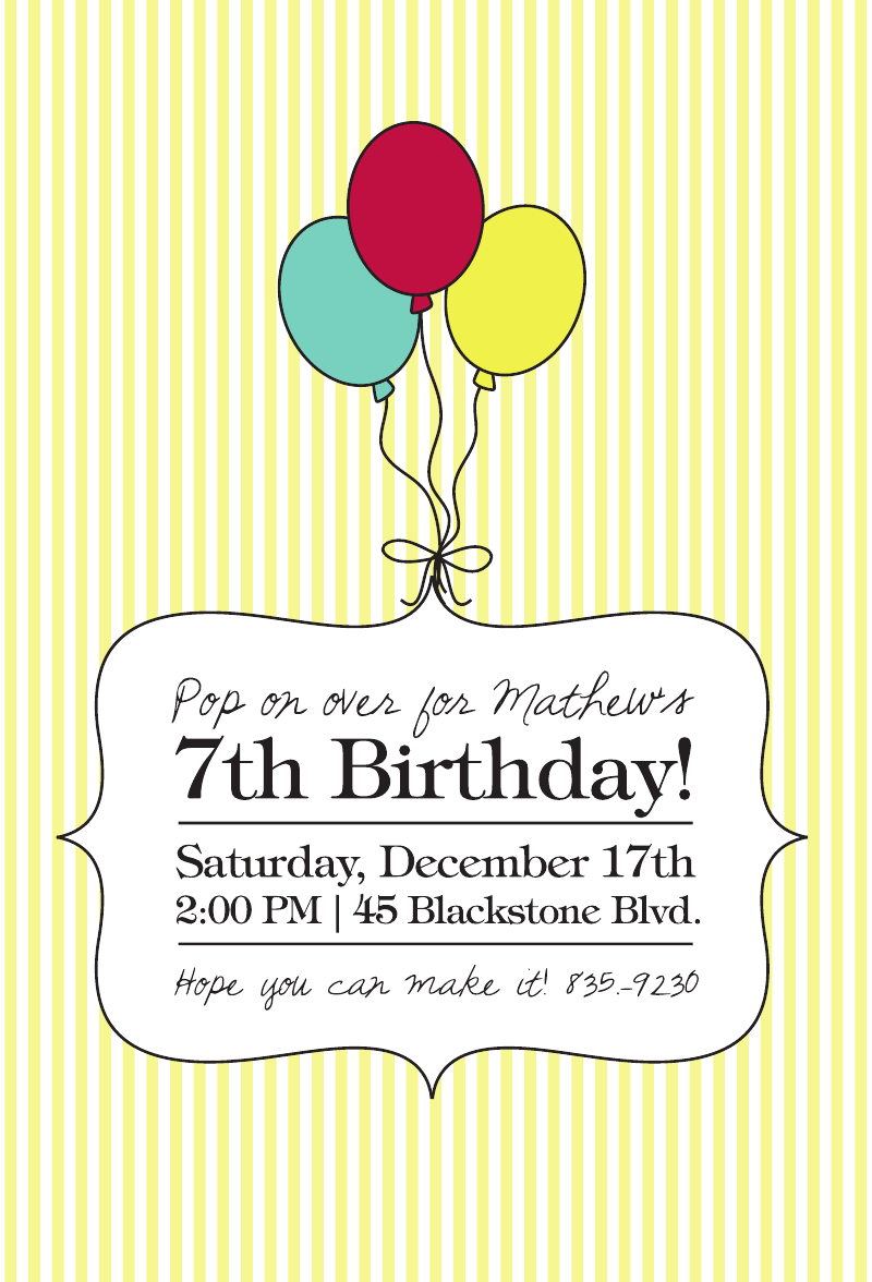 We just added a new set of custom labels and a custom birthday party ...