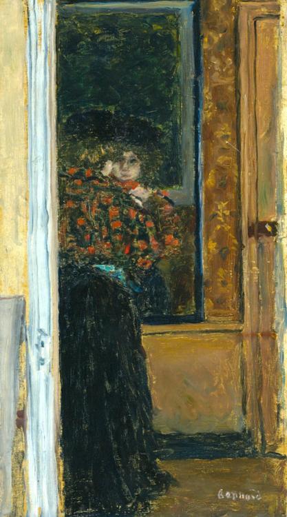Pierre Bonnard 1867 - 1947 Devant La Glace Ou Le Miroir