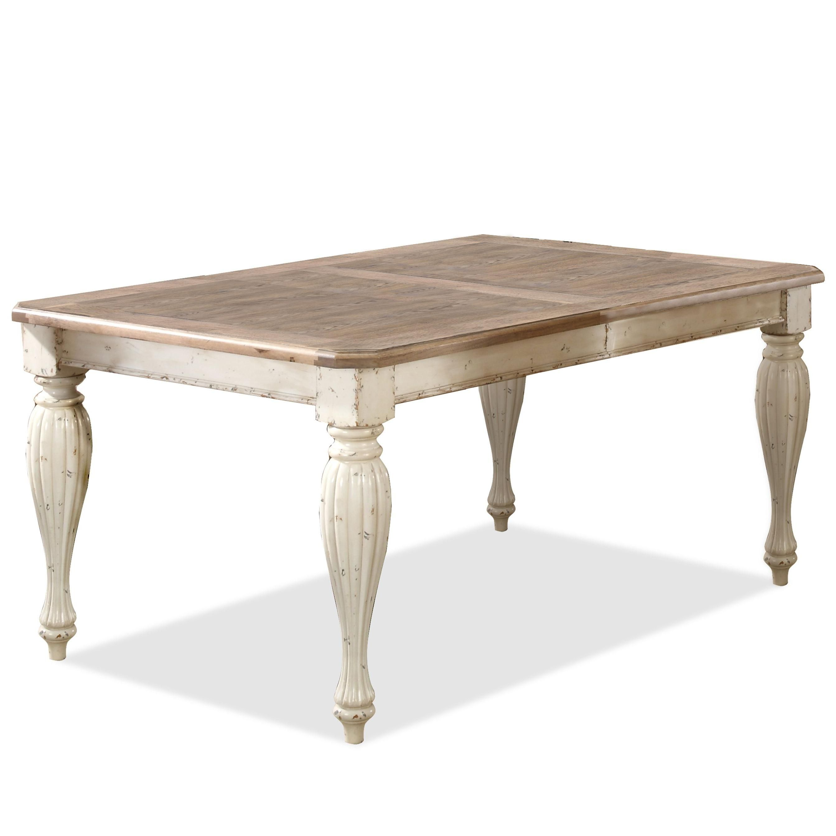 Coventry Two Tone Rectangular Dining Table By Riverside Furniture
