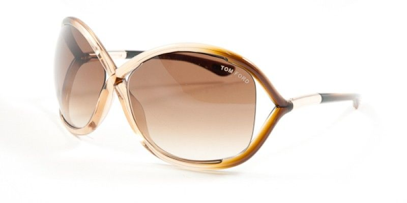 ae355ac245c2 Tom Ford Whitney Sunglasses TF9 74F is designed for women and the frame is  brown. This style has a xtra large - 64mm - lens diameter.