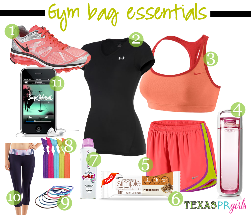170 Best Images About Gym Essentials On Pinterest: Gym Bag Essentials...yes Jack Johnson Is Playing