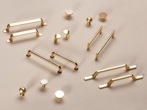 Uchwyt Meblowy Sky Zloty Mosiadz Polysk 128mm Supplies Hair Accessories Push Pin