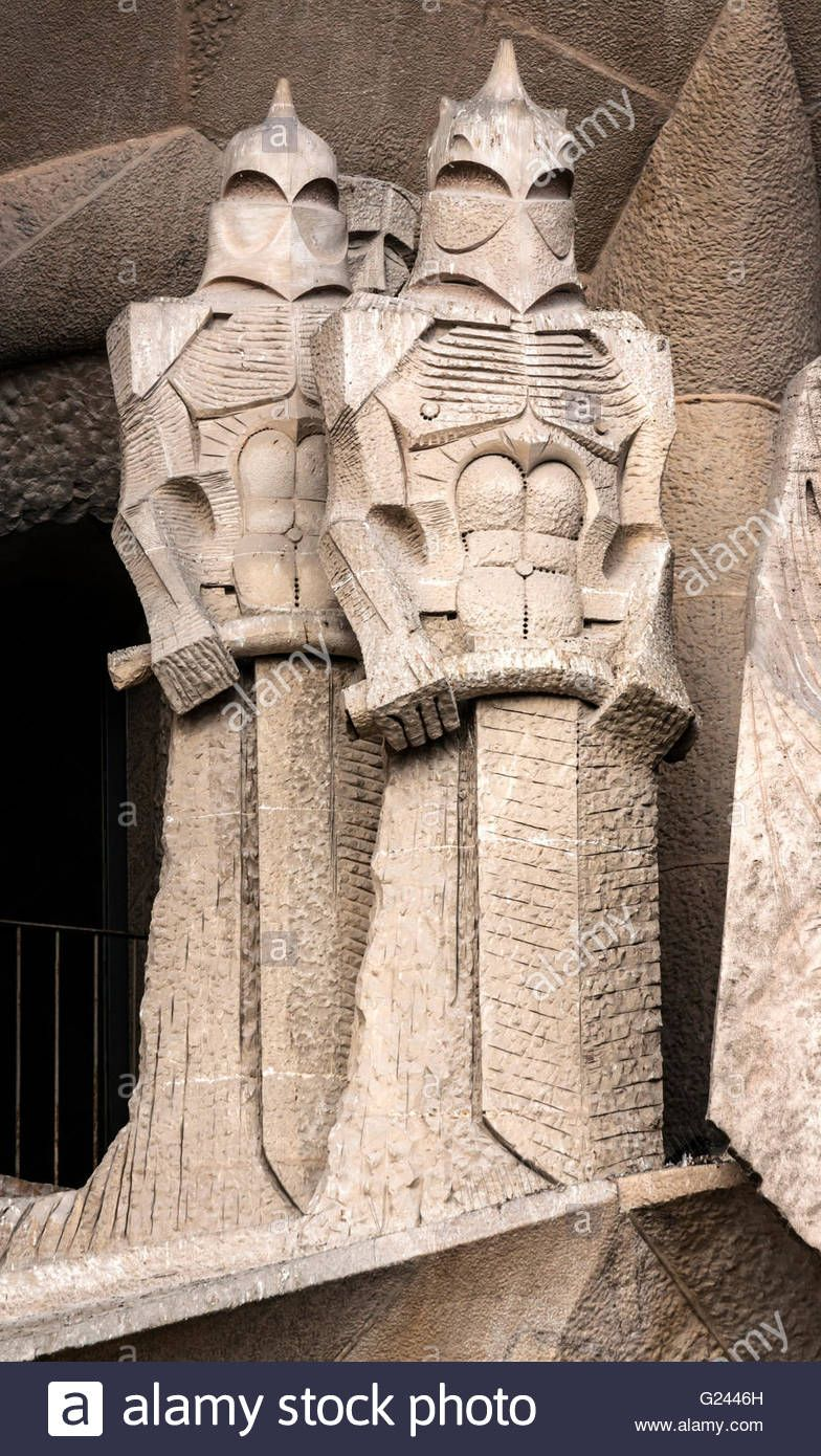 Image result for spanish church with angular sculptures