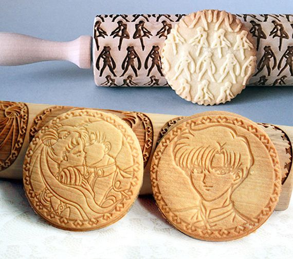 If you're just as bad as Sailor Moon in the kitchen, then one of these engraved rolling