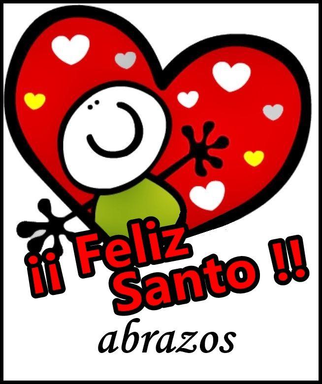 Felicitaciones Santos Bonitas.Feliz Santo Felicitaciones De Santo Gratis Felicitacion