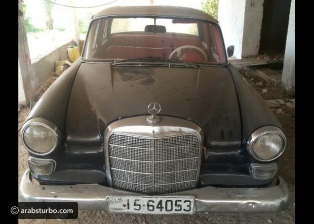 صور مرسيدس بنز 190 موديل 1962 للبيع في الأردن موقع تيربو العرب Antique Cars Antiques Car