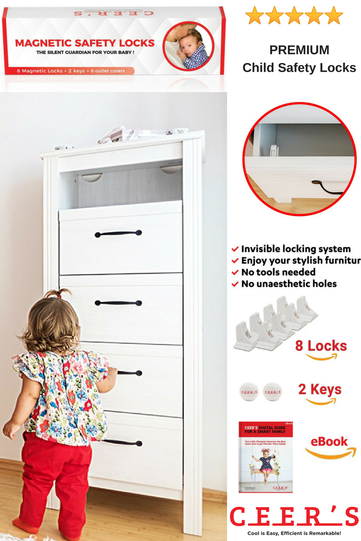 Child Safety Locks by CEER'S! Discover the best