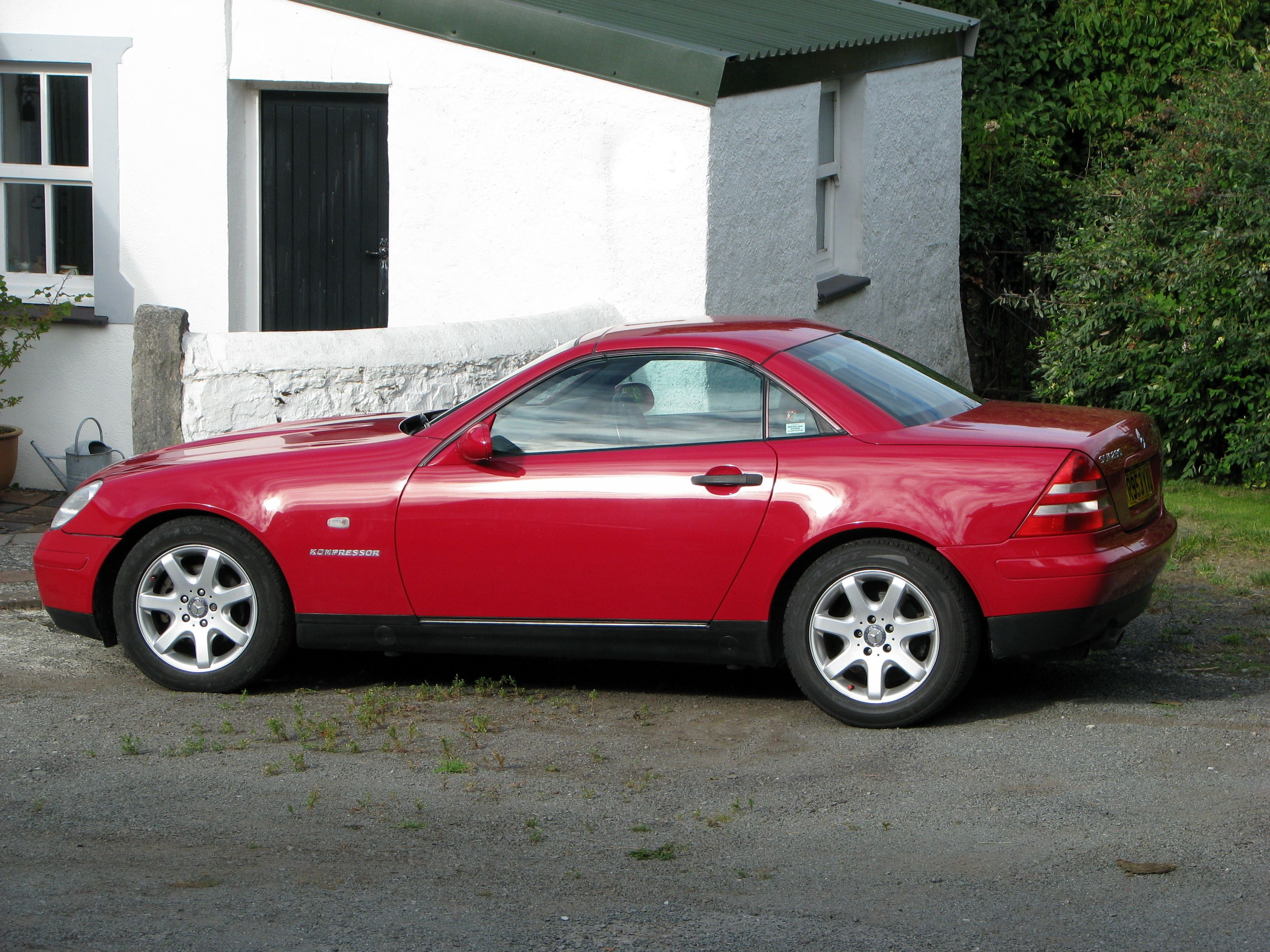 Mercedes benz slk 230 kompressor r 170 1997 mercedes slk for Mercedes benz slk230 kompressor