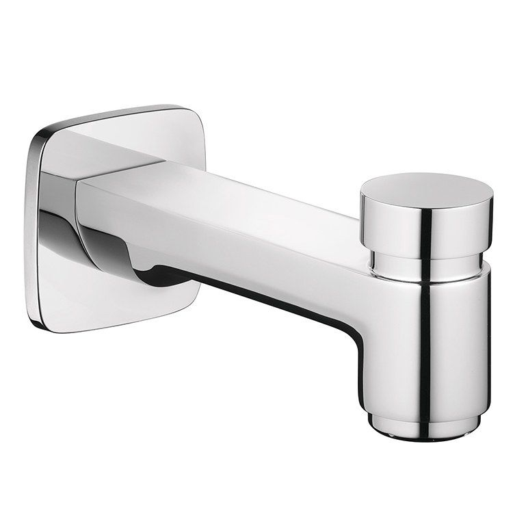 Hansgrohe 71412001 Logis Wall Mount Bathtub Spout With Diverter