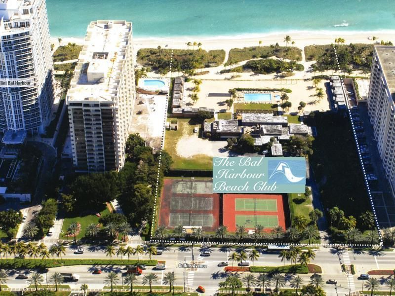 Bal Harbour S Beach Club Has Been Demolished To Give Way The Construction Of Oceana Www Michelekolodner