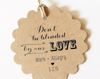 Thank You Bridal Shower Tags Rustic Bridal by WeddingAffections