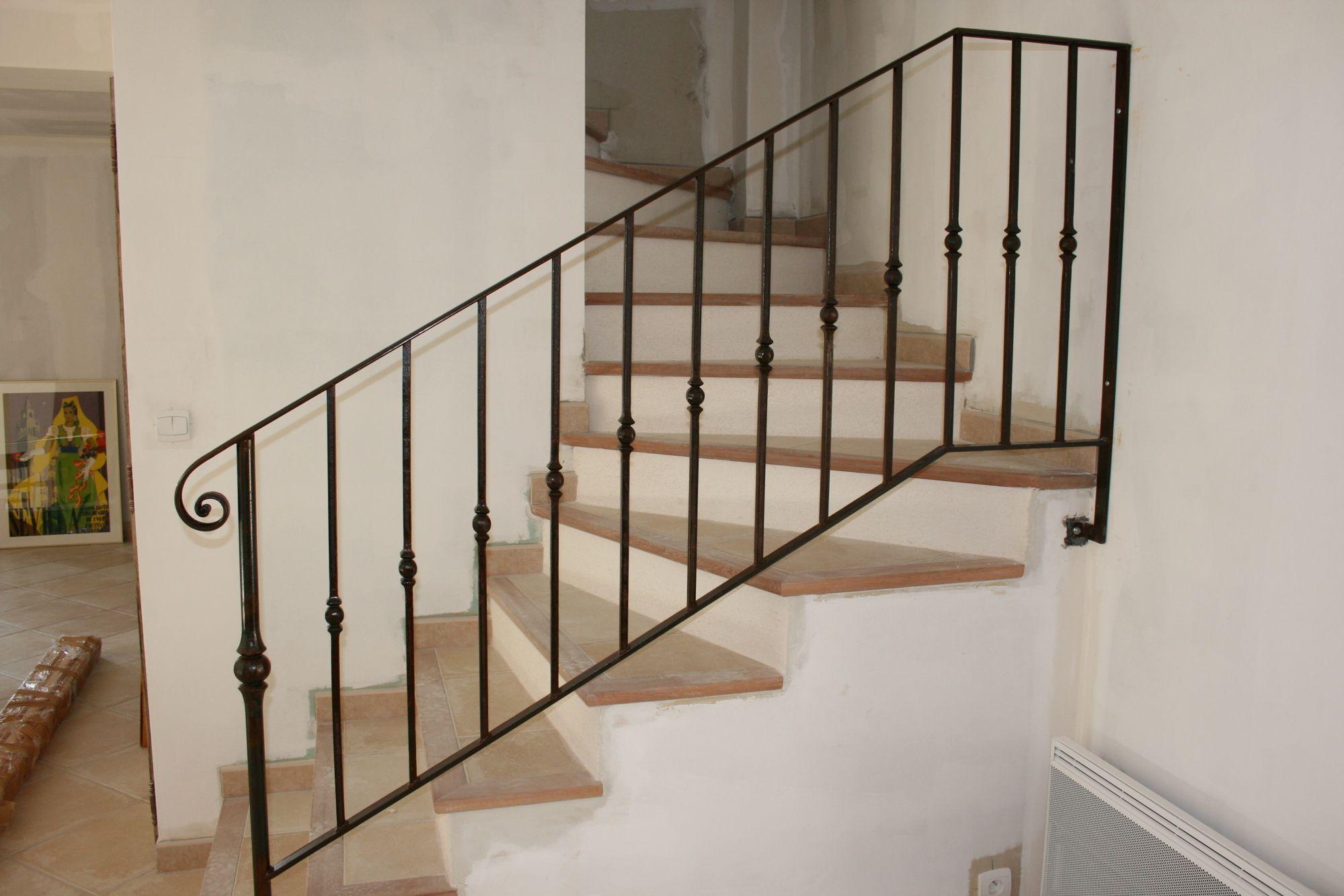 Barriere Escalier En Colimaçon la maison du bas » famille damery | escalier fer, rampe escalier