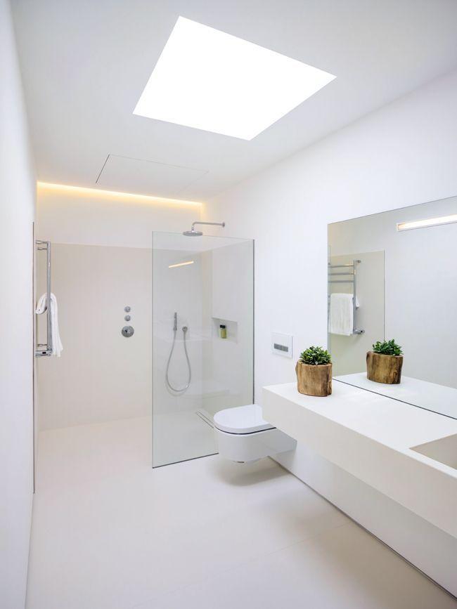 Badezimmer Aus Beton Und Marmor Bad Badezimmer Luxus