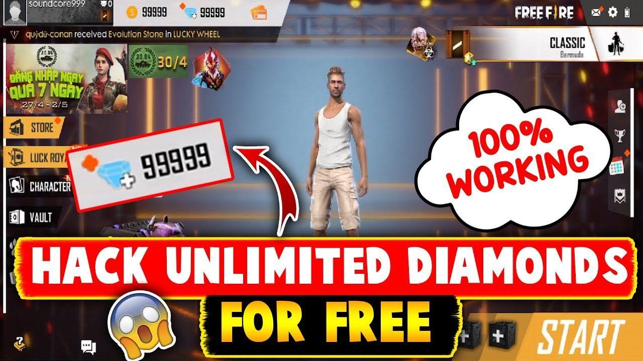 Garena free fire hack how to hack free fire diamonds