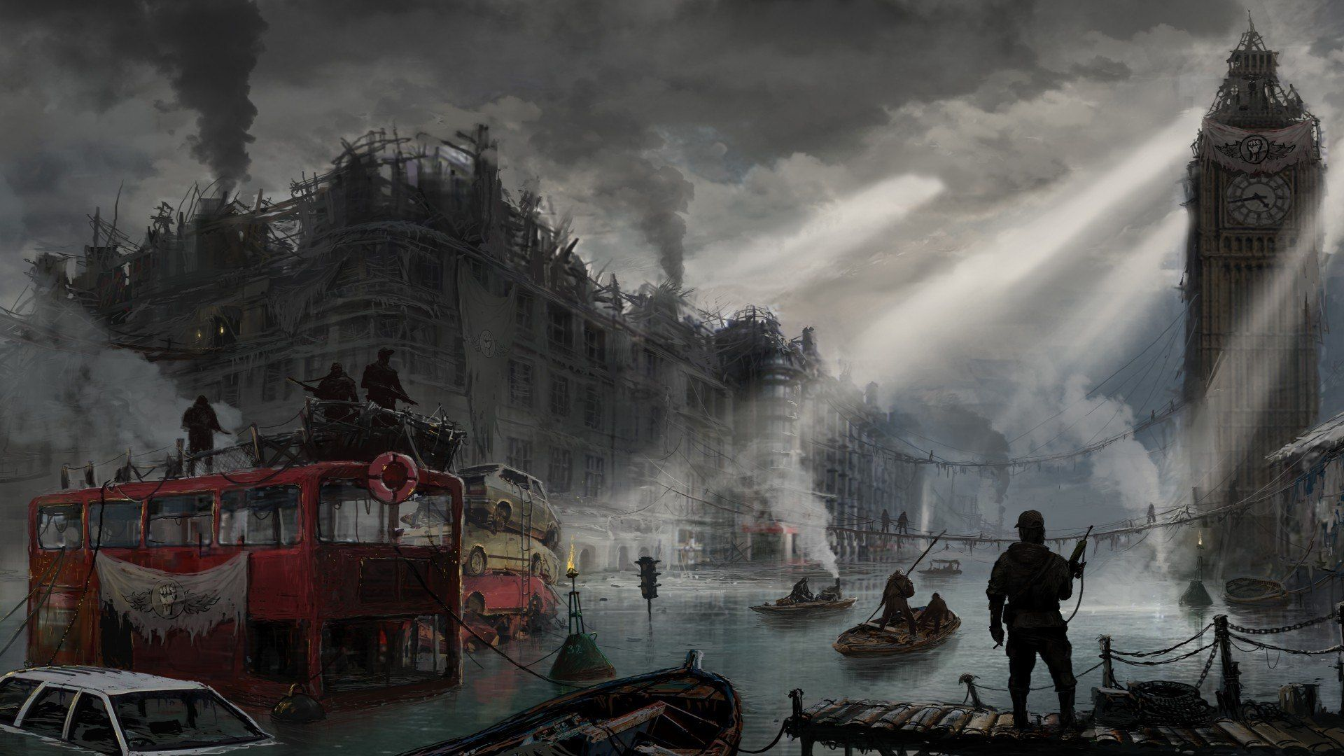 Post Apocalyptic London - Google
