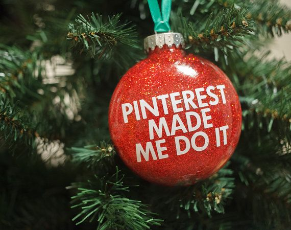 Pinterest Made Me Do It - Ornament crafts i want to do