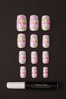 Remember The Plain Press On Nails They Sold At Corner W Crazy Glue Lol