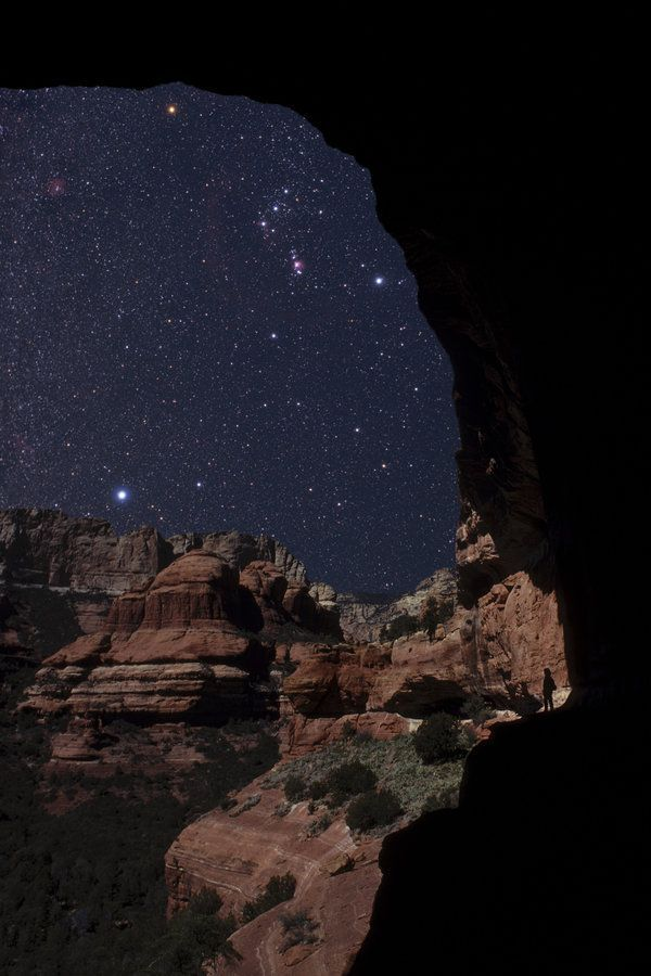 If You Want To See The Best Starry Nights, Go To Arizona ...