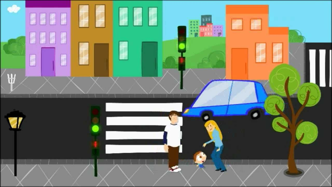 Video Sobre Educacion Vial Para Ensenar A Cruzar La Calle A Los Peques Educacion Vial Educacion Vial Para Ninos Educacion