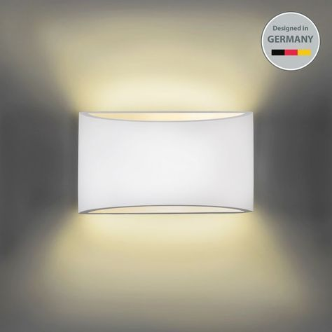 Details zu Wandleuchte Wand-Lampe Strahler Spot Flur-Licht Weiss